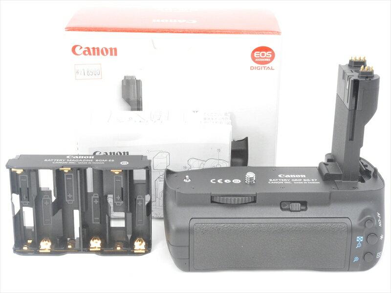 【あす楽】【中古】【1年保証】【美品】 Canon バッテリーグリップ BG-E7