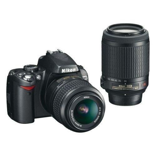 【中古】【1年保証】【美品】 Nikon D60 ダブルズームキット 18-55 55-200 VR