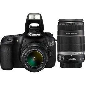 【中古】【1年保証】【美品】Canon EOS 60D ダブルズームキット 18-55mm IS + 55-250mm IS