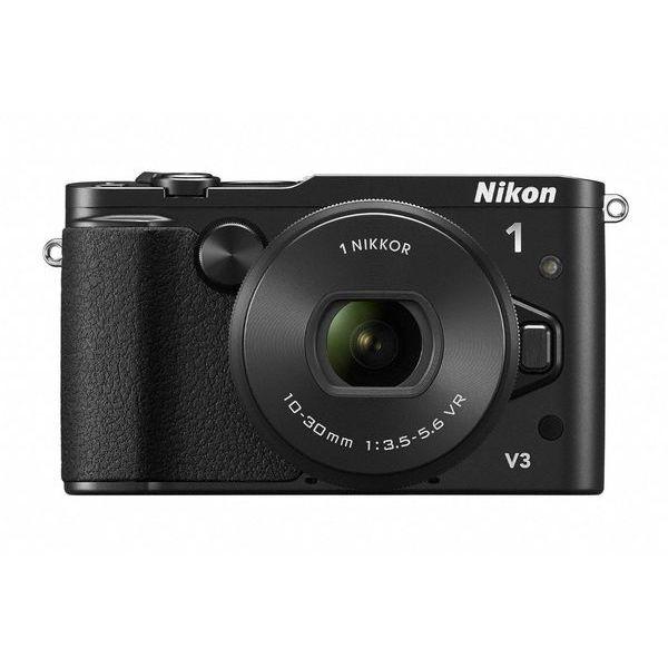 【中古】【1年保証】【美品】 Nikon V3 パワーズームレンズキット ブラック