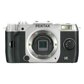 【中古】【1年保証】【美品】PENTAX Q7 ボディ シルバー