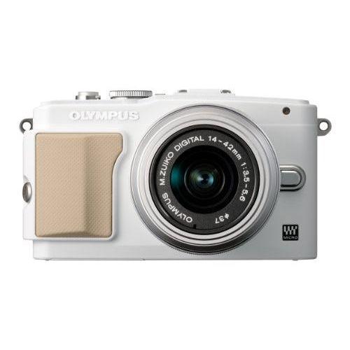 【中古】【1年保証】【美品】OLYMPUS E-PL5 レンズキット ホワイト