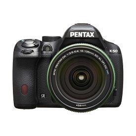 【中古】【1年保証】【美品】PENTAX K-50 DA 18-135mm WR ブラック