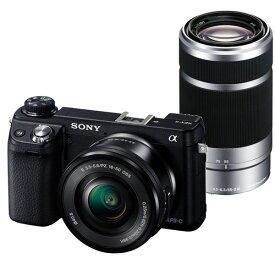 【中古】【1年保証】【美品】SONY NEX-6Y ダブルズームキット 16-50mm + 55-210mm