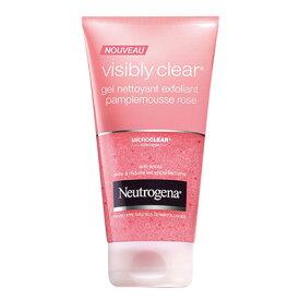 プルミエールルミエールニュートロジーナ社製ピンクグレープフルーツの香りがする目立ってしょうがない毛穴の角質を除去する洗顔料