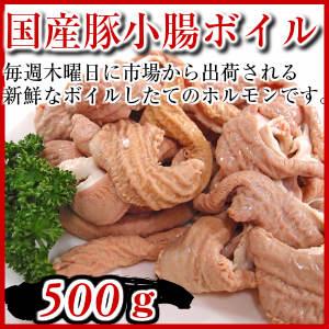 国産豚ホルモン500g 豚小腸 pork small intestine