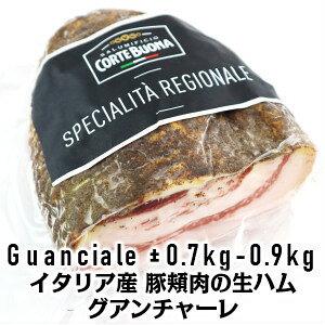 【不定貫】60日以上熟成イタリア産グアンチャーレハーフカットkg当たり2664円