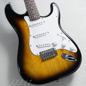 Squier by Fender《スクワイヤー》 Bullet Strat w/Tremolo (Brown Sunburst) 【あす楽対応】 【oskpu】