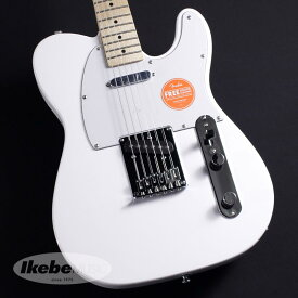 Squier by Fender《スクワイヤー》Affinity Series Telecaster(Arctic White/Maple Fingerboard)【特価】【あす楽対応】 【oskpu】【LZ】