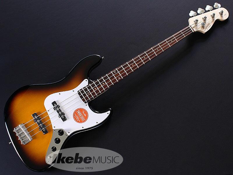 Squier by Fender《スクワイア》 Affinity Series Jazz Bass (Brown Sunburst)【あす楽対応】