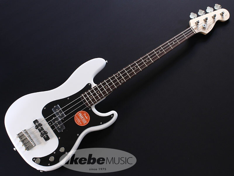 Squier by Fender《スクワイア》 Affinity Series Precision Bass PJ (Olympic White) 【あす楽対応】