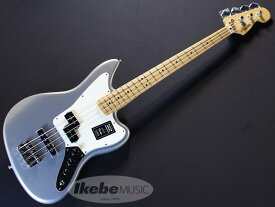 Fender MEX《フェンダー》Player Jaguar Bass (Silver/Maple) [Made In Mexico]【あす楽対応】【oskpu】