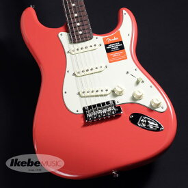 """Fender USA 《フェンダー》Limited Edition American Professional Stratocaster """"Solid Rosewood Neck"""" (Fiesta Red)【あす楽対応】【oskpu】"""