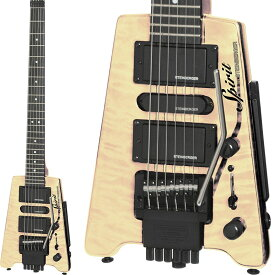 """STEINBERGER 《スタインバーガー》Spirit GT-PRO """"QUILT TOP"""" DELUXE (NA/Natural)【あす楽対応】"""