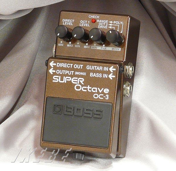 BOSS 《ボス》 OC-3 (SUPER Octave)【数量限定!FUJITSU 9V電池プレゼント!】 【期間限定★送料無料】【oskpu】【IKEBE×BOSSオリジナルデザインピックケースプレゼント】