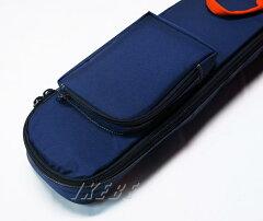 NAZCAプロテクトギグケース[ギター用/PGOriginalOrder](Navy-Orange)