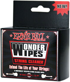 ERNIE BALL 《アーニーボール》STRING CLEANER 6-PACK [4277]