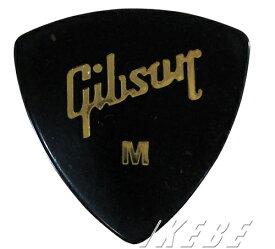 GibsonGross Black Wedge Style Pick [APRGG-73M] (オニギリ型/ミディアム)×10枚セット
