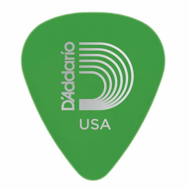 PLANET WAVES 《プラネットウェーブ》Duralin Picks Standard Shape ×10枚セット (0.85mm/グリーン)