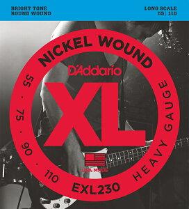 D'Addario 《ダダリオ》XL Nickel Round Wound EXL230
