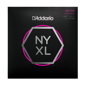 D'Addario 《ダダリオ》NYXL Series 5-Strings Electric Bass Strings [NYXL45130]