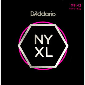 D'Addario 《ダダリオ》NYXL Series Electric Guitar Strings NYXL0942