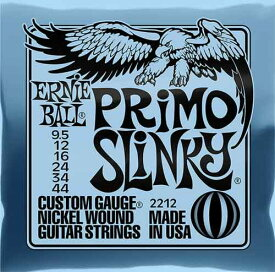 ERNIE BALL 《アーニーボール》Nickel Wound Electric Guitar Strings Primo Slinky (#2212/9.5-44)