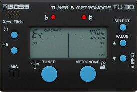 BOSS 《ボス》 TU-30 [Tuner&Metronome]