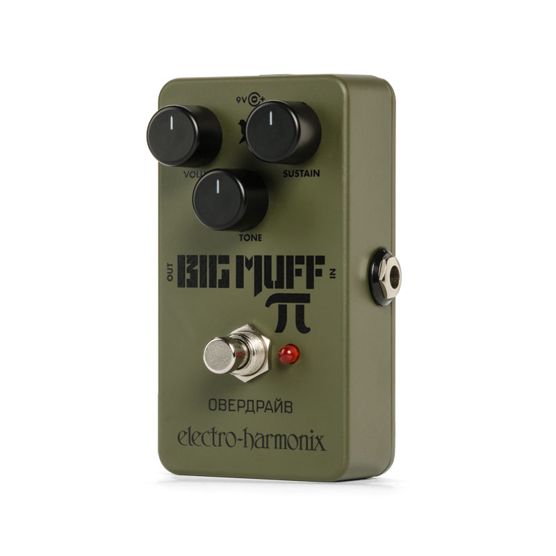 Electro HarmonixGreen Russian Big Muff [Distortion/Sustainer] 【再入荷!】【あす楽対応】【送料無料!】