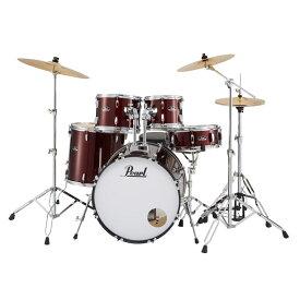 Pearl 《パール》 RS525SCWN/C #91 [ROADSHOW Drum Set / レッドワイン]【シンバル、ハードウェアまで付属したスターターセット】