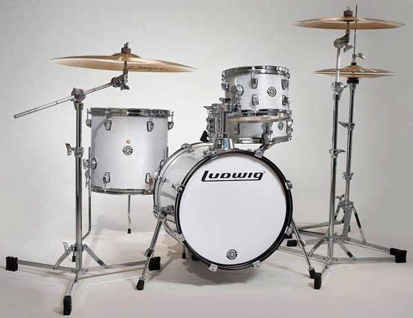 """Ludwig 《ラディック》 LC179X028 [BREAKBEATS OUT FIT / AHIMIR """"?UESTLOVE"""" THOMPSON Collaboration (White Sparkle)]"""