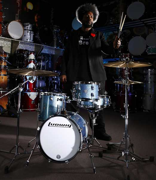 "Ludwig 《ラディック》 LC179X023DIR [BREAKBEATS OUT FIT / AHIMIR ""?UESTLOVE"" THOMPSON Collaboration]【限定カラー・モデル】"