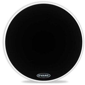 "EVANS/バスドラムヘッド《エバンス》 BD22RA[EQ1 Resonant Black 22"" / Bass Drum]【1ply , 7mil】"