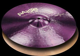 "PAiSTe 《パイステ》 Color Sound 900 Purple Heavy HiHat 14"" pair【2枚セット】"