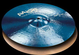 "PAiSTe 《パイステ》 Color Sound 900 Blue Heavy HiHat 14"" pair【2枚セット】"