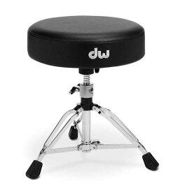 dw《ディーダブリュー》 DW-9101 [Low Round Seat Drum Throne] 【お取り寄せ品】