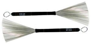 "Brush Fire SL-13 [""SURE-LOK"" Heavy Gauge Wire Brush] 【現代によみがえる、Buddy RichやGene Krupaのブラシ・サウンド!】"