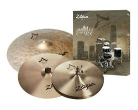 "Zildjian/A.Zildjian 《ジルジャン》 CITY PACK-New Beat 12""/Fast Crash 14""/Up Town Ride 18""[NAZLCITYP248]"