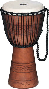 """MEINL 《マイネル》 ADJ2-M+BAG [Original African Style Rope Tuned Wood Djembe / Water Rhythm Series 10""""]"""