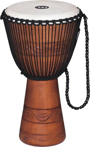 "MEINL 《マイネル》 ADJ2-L+BAG [Original African Style Rope Tuned Wood Djembe / Water Rhythm Series 12""]"