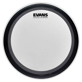 "【EVANSドラムヘッド2020年 夏キャンペーン!】EVANS/バスドラムヘッド《エバンス》 BD20EMADUV [UV EMAD Coated 20"" / Bass Drum]【1ply 10mil + EMAD】"