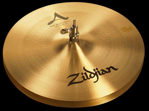 "Zildjian/A.Zildjian 《ジルジャン》 New Beat Hi Hat 14""pr [NAZL14NBHHT&HHBM]"