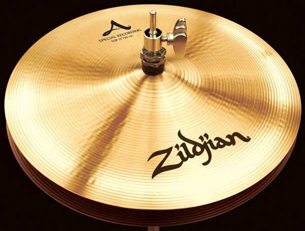 "Zildjian/A.Zildjian 《ジルジャン》 Special Recording Hi Hat 12""pr [NAZL12SRHHT&HHBM]"
