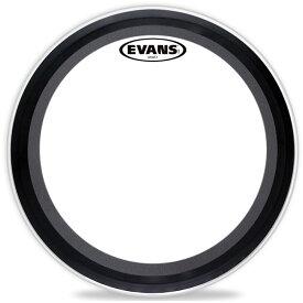 """【EVANSドラムヘッド2020年 夏キャンペーン!】EVANS/バスドラムヘッド《エバンス》 BD20EMAD2 [EMAD2 Clear 20"""" / Bass Drum]【2ply , 7mil + 10mil】"""