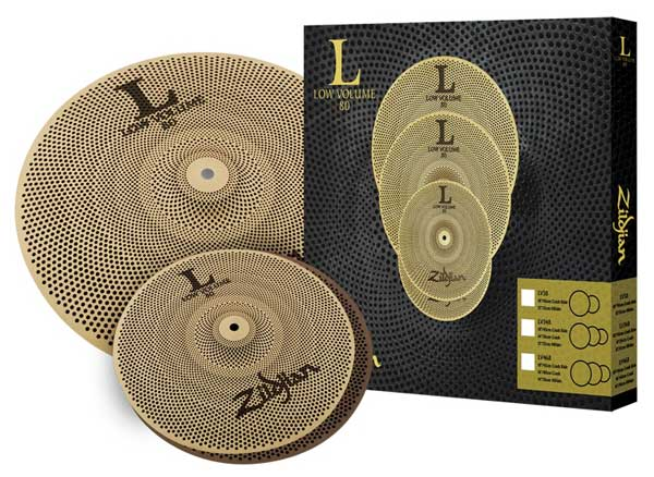 "Zildjian/L80 Low Volume 《ジルジャン》 L80 LOW VOLUME 38 BOX SET [13"" HiHats・18"" Crash Ride set / NAZLLV38]"