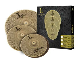 "Zildjian/L80 Low Volume 《ジルジャン》 L80 LOW VOLUME 348 BOX SET [13"" HiHats・14"" Crash・18"" Crash Ride set / NAZLLV348]"