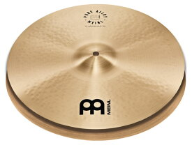 "【MEINL シンバルキャンペーン 2019 Winter】MEINL 《マイネル》 PA14MH [Pure Alloy Series / Medium HiHat 14"" pr]"