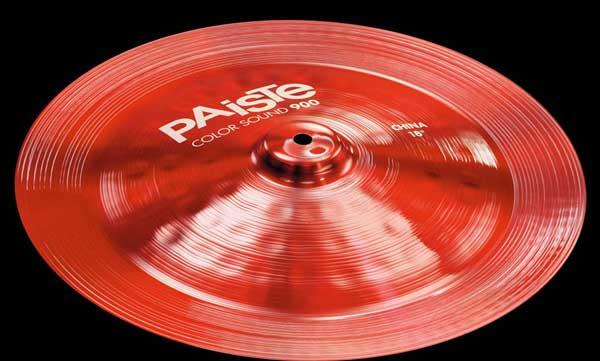"PAiSTe 《パイステ》 Color Sound 900 Red China 14"""
