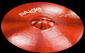 """PAiSTe 《パイステ》 Color Sound 900 Red Heavy Crash 18"""""""