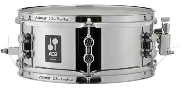 "SONOR 《ソナー》 AQ2-1205SDS [AQ2 Series Steel Shell Snare Drum 12"" x 5""]"
